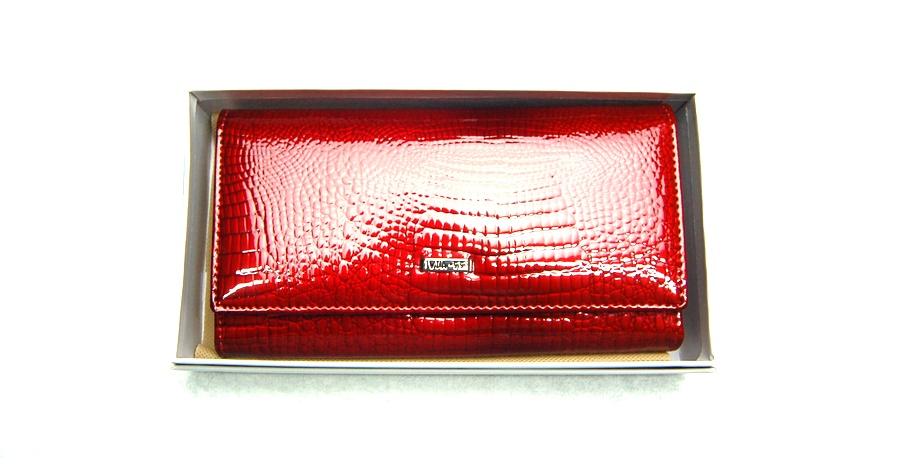 Női pénztárca  VIA55 női pénztárca V76111RSR piros patentos 24fbe5474e